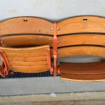 Old bleacher seats (before)
