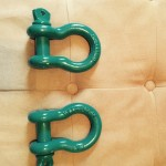Powder coated clevis$25 for the pair